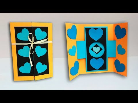 How to make customized shutter greeting card | Latest design tutorial thumbnail