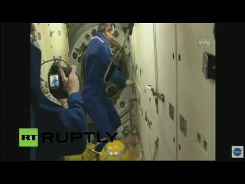 LIVE: Expedition 48 to be welcomed at ISS after docking