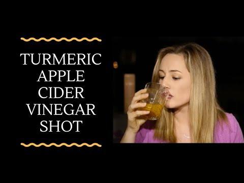 Turmeric Apple Cider Vinegar Shot