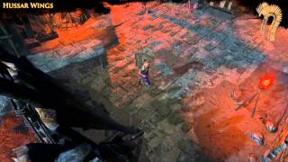 Path of Exile - Hussar Wings Back Attachment