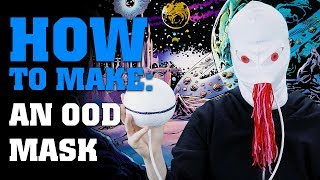 How To Make An Ood Mask - Doctor Who