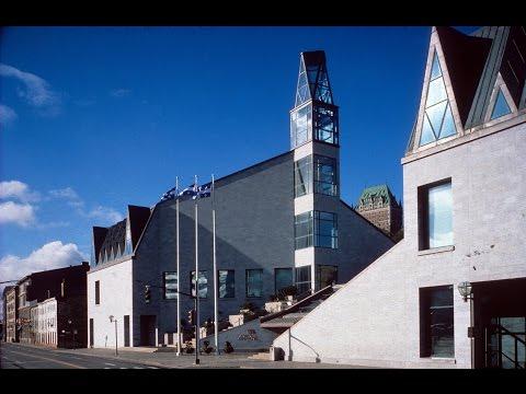 Musée De La Civilisation De Québec - Museum Of Civilisation Montreal Quebec - Tour / Interview