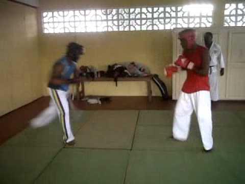 Masujaa Martial Arts club: Capoeira vs. Shotokan Karate