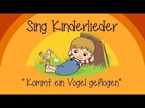 Kommt ein Vogel geflogen - Kinderlieder zum Mitsingen | Sing Kinderlieder