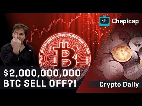 Craig Wright lawsuit verdict = $2 BILLION Bitcoin dump?! Cryptocurrency news | Chepicap
