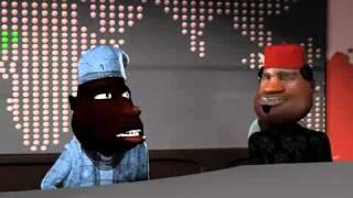Revolución africana: de dibujos animados Divertidos (N-informe de Aluta) (Episodio 4) (C) Blackhouse Animation Studios