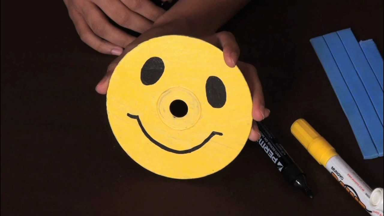 How To Make A Smiley Arts And Crafts Youtube