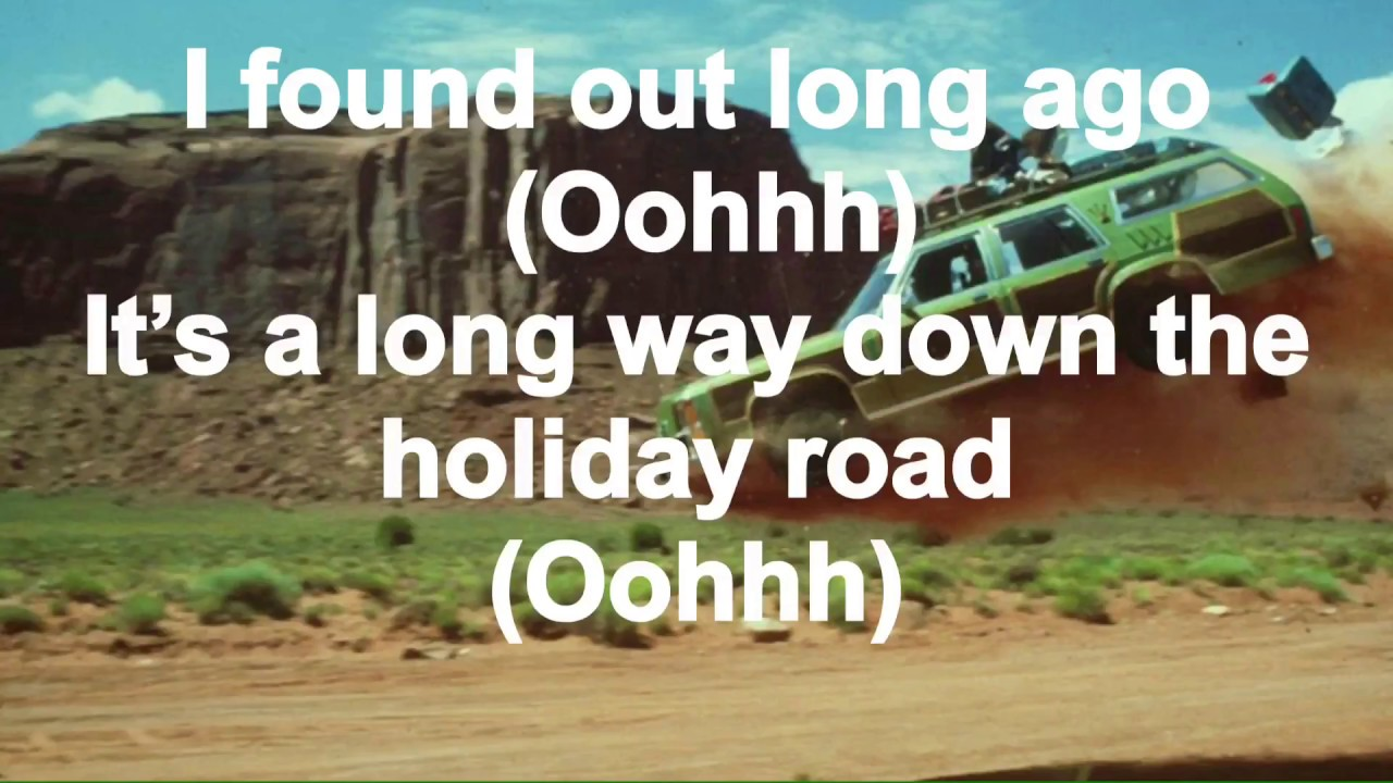 Holiday Road - Lindsey Buckingham (Vacation) - (LYRICS ...
