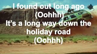 Holiday Road - Lindsey Buckingham (Vacation) - (LYRICS)