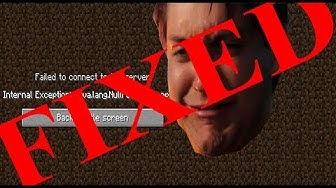 minecraft java.net.connectexception connection timed out no further information fix