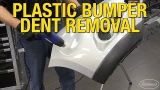 How to Remove a Dent from a Plastic Bumper with the Eastwood Digital Heat Gun!