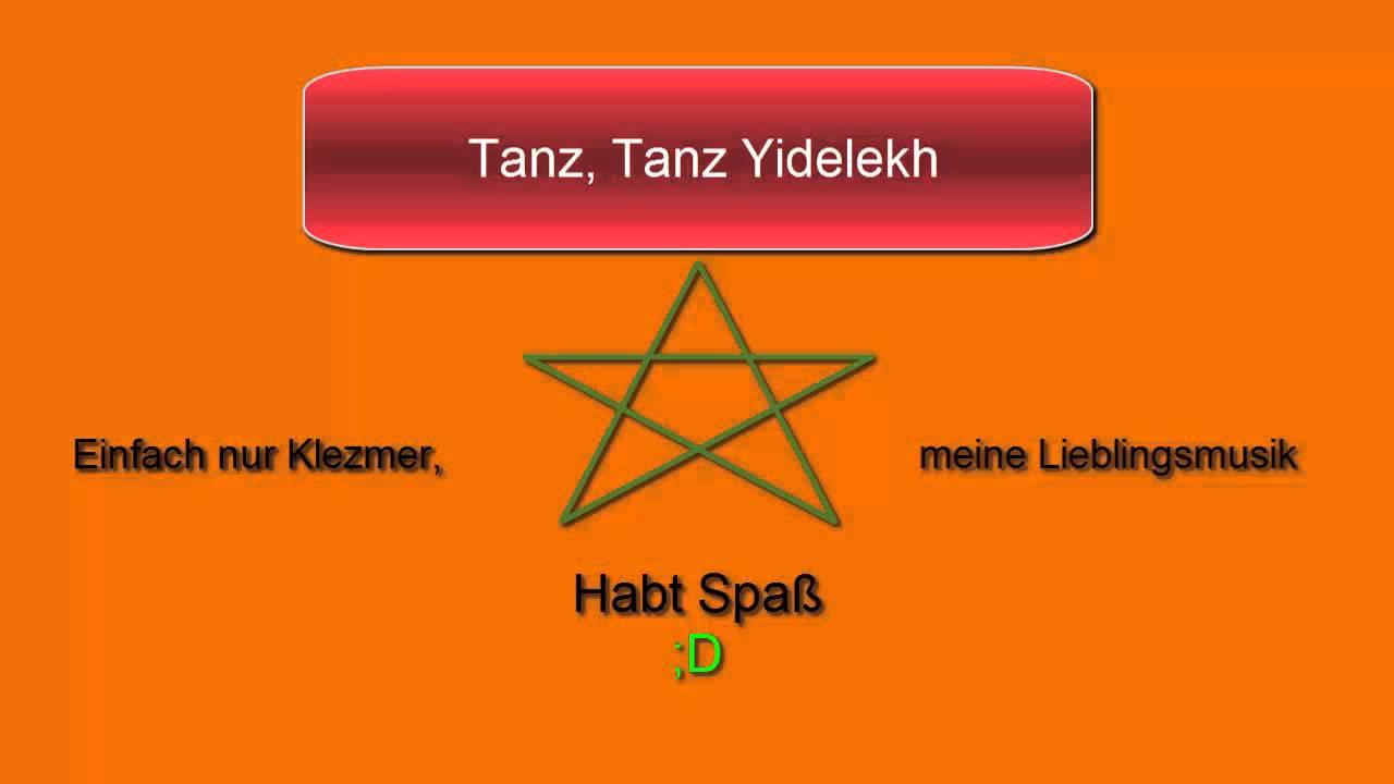Tanz, Tanz Yidelekh