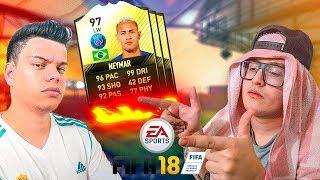 FIFA 18 - COMO ELE NÃO ESCOLHEU O NEYMAR ! - FUTDRAFT ‹ PORTUGAPC ›
