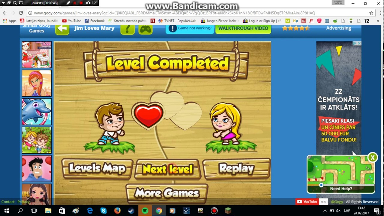 how to play jim loves mary level 2