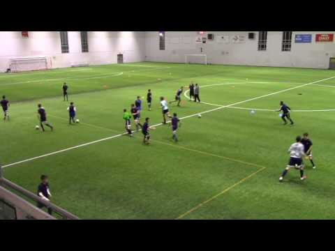 Whitecaps NS Academy Full Session - Increase Speed of Play - Led by Marinos P
