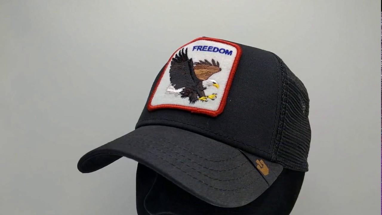 Goorin Bros. Freedom Trucker cap - black - €34 7ddd8cc3006