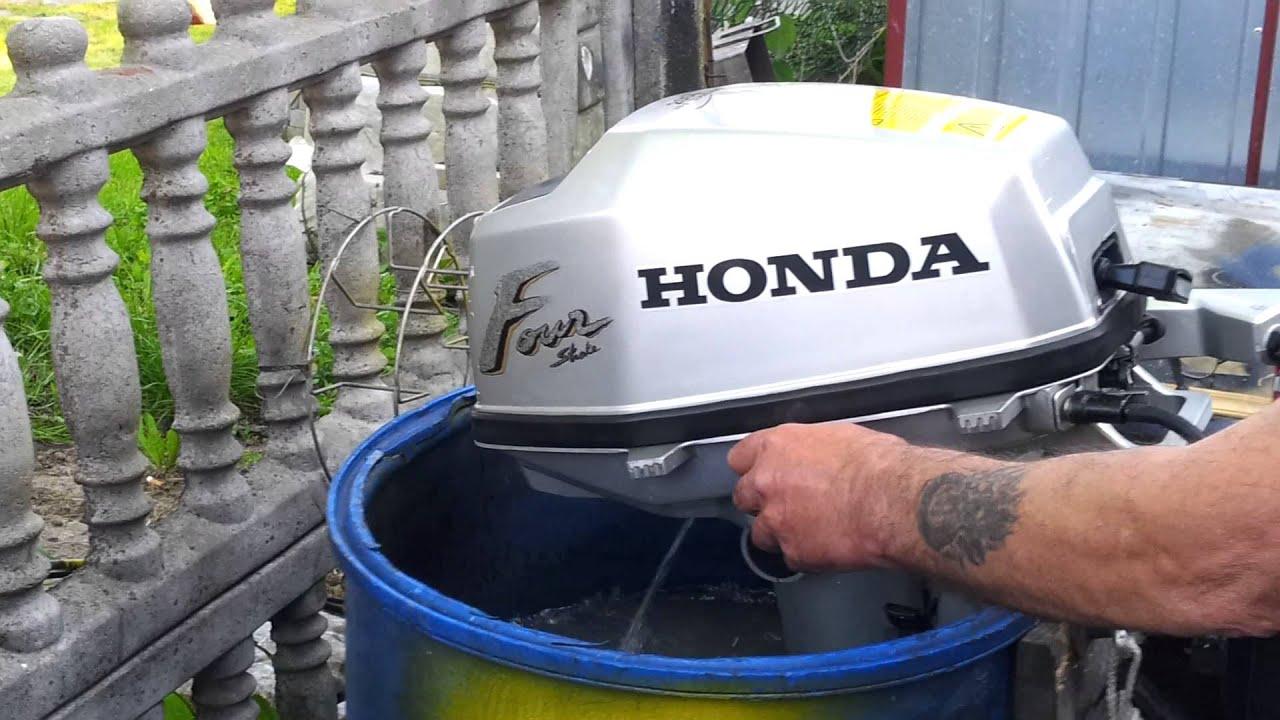 2010 Honda Bf 5 Hp Outboard Motor 4 Stroke 4 Suw