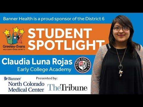 Student Spotlight: Claudia Luna Rojas