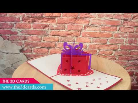 3D Popup Cards Heart