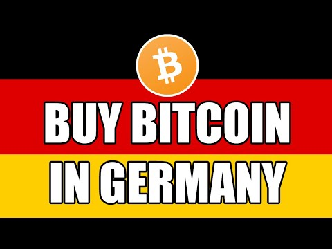 How To Buy Bitcoin In Germany?? (THE BEST WAY!!)