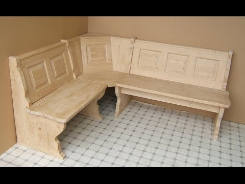 kitchen corner bench seating faucets cheap creative ideas - youtube