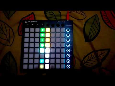 DJ Aku Milik Maimunah Tiktok song Launchpad Cover [LEDShow]