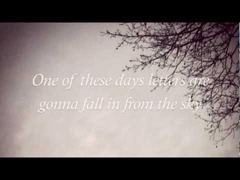Letters From The Sky - Civil Twilight LYRICS HD
