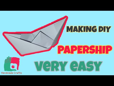 Making easy diy papership. Origami