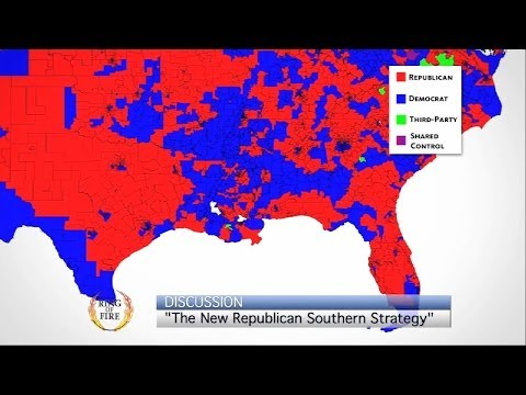 Papantonio: The New Republican Southern Strategy - The Ring Of Fire