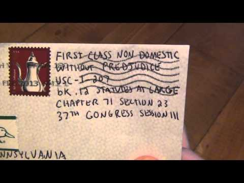 How To : Send A Letter In The US For $0 03