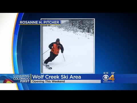 Colfax - Watch: Wolf Creek Ski Area To Open This Weekend