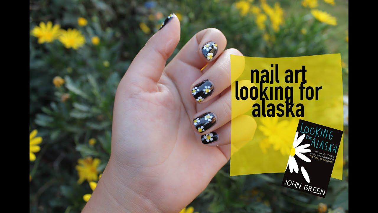 Looking For Alaska Artwork: Nail Art Looking For Alaska