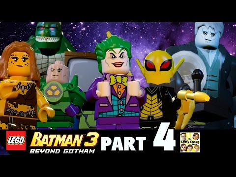 Lets Play Lego Batman 3 - Space Suits You Sir (Part 4 BEYOND