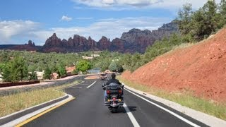 4. Harleys on across Arizona - Sedona to Prescott