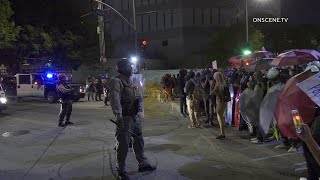 Protest Against Police Shootings Continue In Los Angeles