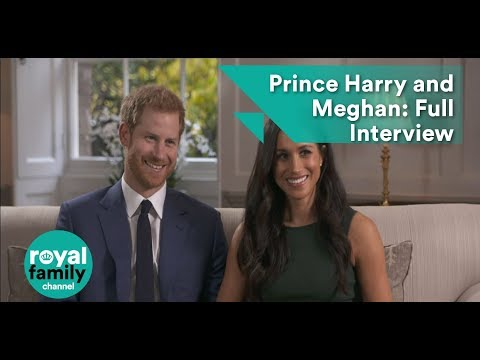 Prince Harry and Meghan Markle Engagement: Full Interview