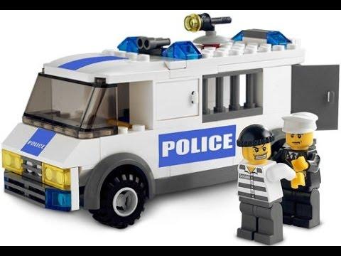 LEGO Coches De Policia Dibujos Animados Para Nios  YouTube