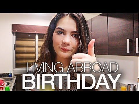 Maya's Expat BIRTHDAY! Living Abroad with Kids