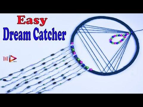 DIY Easy Way to Make Dream Catcher | Room Decoration ideas | Handmade Crafts | DIY Boho Dreamcatcher
