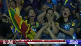 Mathews Stars In Thriller   Sri Lanka Vs West Indies 3rd Odi   Match Highlights