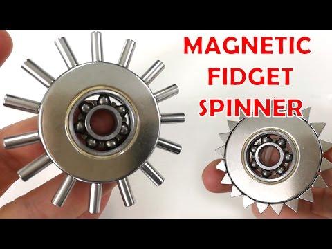 Magnetic Fidget Spinner , DIY Hand Spinner Toys | Magnetic