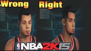 NBA 2k15 - How To Scan Your Face Tutorial! Official Face Scanning Tips Fundamentals!