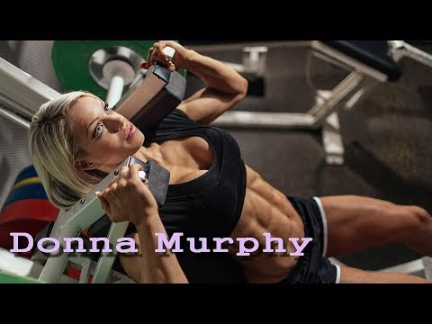 """Donna Murphy stunning British Physique Athlete  """"Hold on Me"""" music video"""