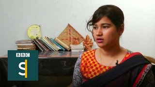 Shamed on Facebook 12 years after gang-rape - BBC Stories