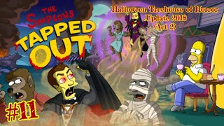 The Simpsons: Tapped Out [385] Halloween Treehouse of Horror Update (2018) Pt 11 (Act 2) {Overview}