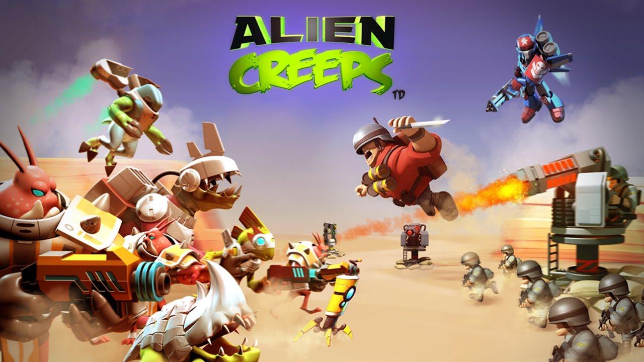 Alien Creeps TD – Universal – HD (Sneak Peek) Gameplay Trailer