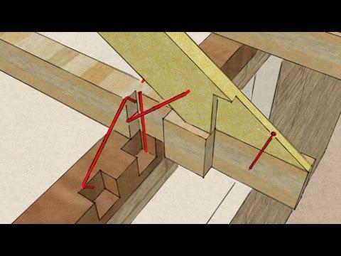 видео: bc: Узлы стропильной системы
