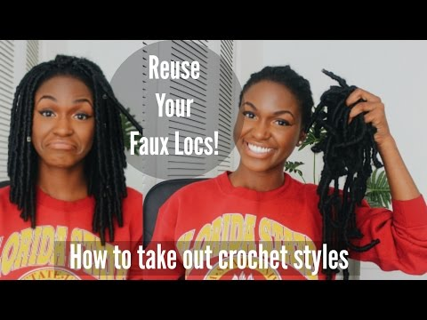 How to Take Out Your Crochet Braids