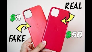 Gambar cover $8 Fake iPhone Leather Case vs. $50 Genuine Apple Leather Case   Is It Worth It?