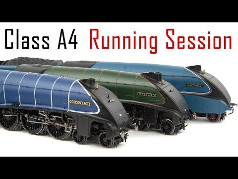A Day with Gresley A4 locomotives